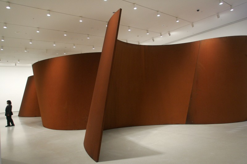 Dinner For Richard Serra Sculpture: Forty Years At MOMA