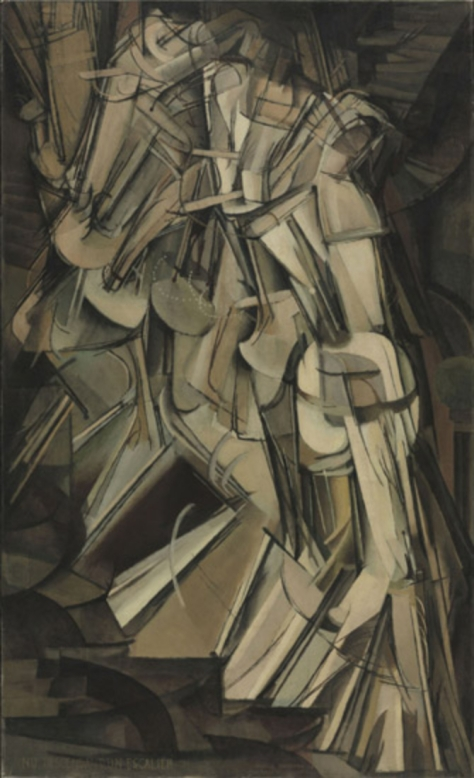 Duchamp's Nude Descending a Stair was the most controversial work in the 1913 Armory Show