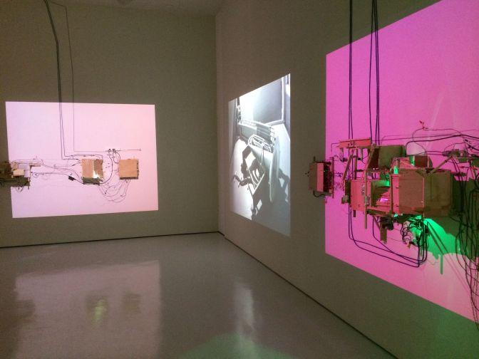 """""""Trailer"""" installation view"""