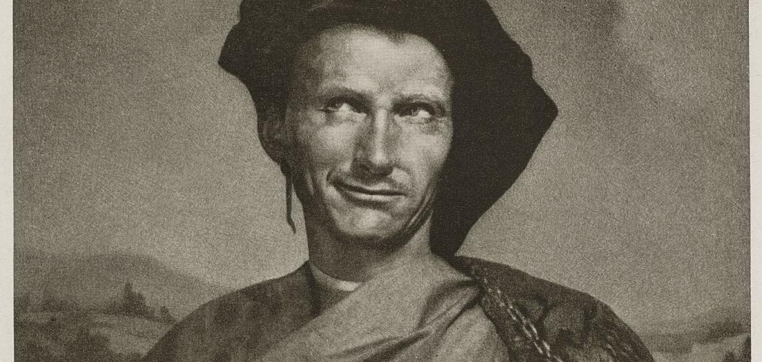 Niccolo Machiavelli - Robert Balcomb photograph of Mortensen original print.