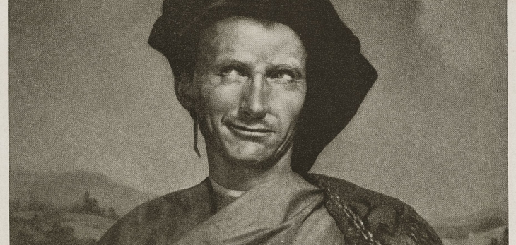 Niccolo Machiavelli - Robert Balcomb photograph of Mortensen original print.